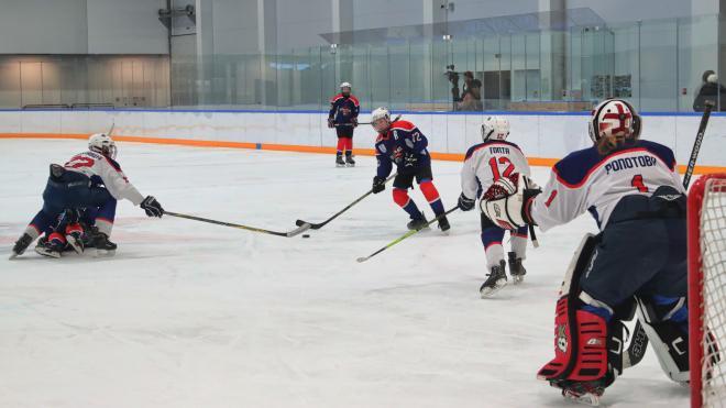 Во Фрунзенском районе открыли Академию хоккейного мастерства имени Валерия Харламова