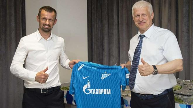 """Под руководством Семака """"Зенит"""" выиграл третий товарищеский матч подряд"""