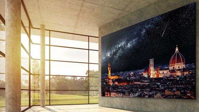LG готовит к выпуску 163-дюймовый модульный 4K-телевизор на основе MicroLED