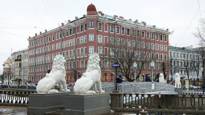 Петербург попал в холодный тыл циклона 22 марта