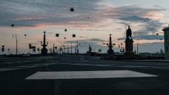 Петербургские дороги оснастят нерегулируемыми пешеходными переходами