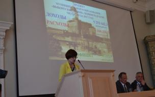 Бюджет Выборгского района исполнен на 128%