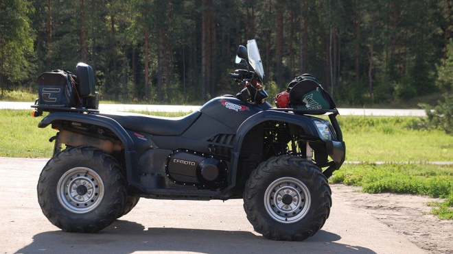 У петербургского дачника украли квадроцикл