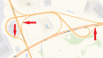 На развязке КАД с Выборгским шоссе на сутки перекроют ...
