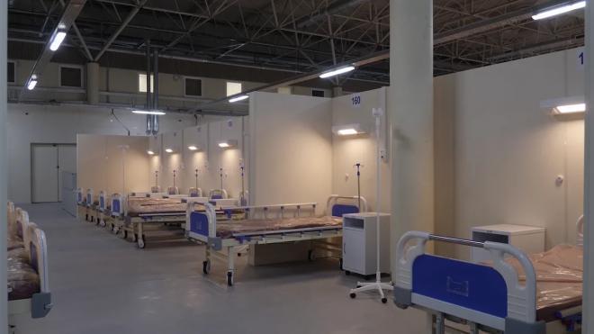 В Петербурге развернут до 12 тысяч коек для коронавирусных больных