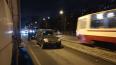 На улице Дыбенко из-за ДТП образовалась километровая ...