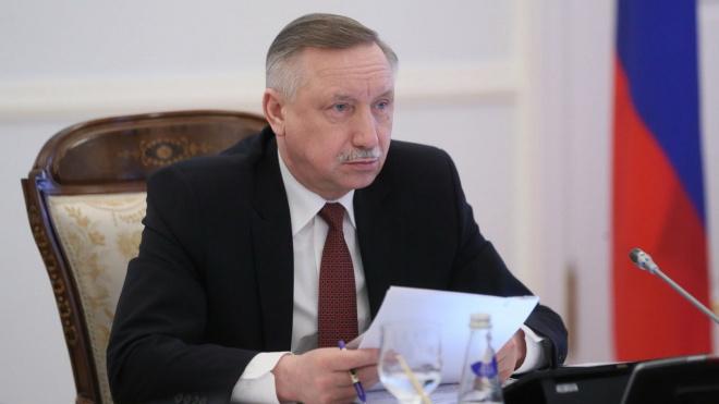 Беглов отреагировал на послание Путина Федеральному собранию
