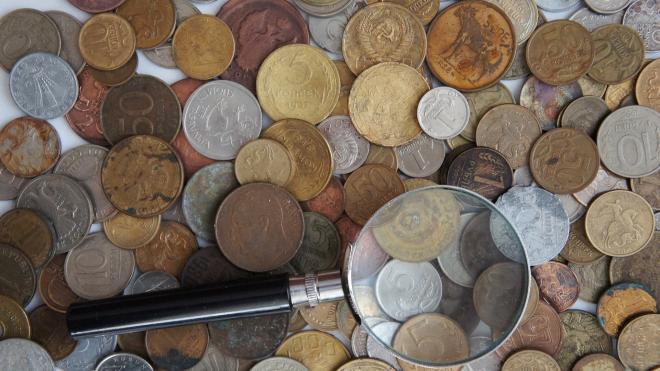 Вор вынес из квартиры в Петергофе коллекционные монеты, валюту и кольцо