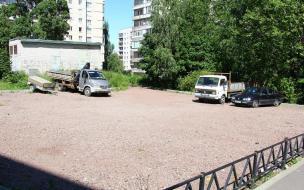 В Выборге благоустраивают двор на Рубежной, 36