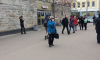 "Фото: станция метро ""Выборгская"" закрыта по техническим причинам"
