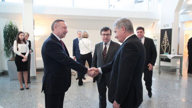 Беглов подвел итоги рабочего визита в Хельсинки