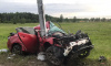 Ночью 28-го июня на автодороге Кола произошло серьезное ДТП