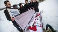 """Активисты """"Весны"""" в Петербурге похоронили """"Будущее ..."""