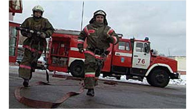 В центре Петербурга горел завод