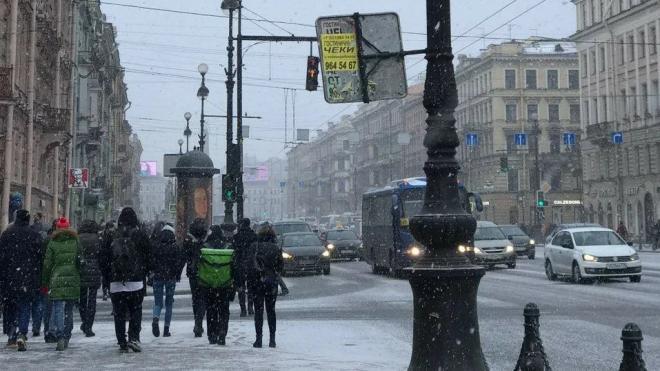 Петербуржцев предупредили о морозах в преддверии 8 марта