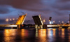 В ночь на 3 апреля в Петербурге разведут четыре моста