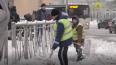 Сотрудники МЧС будут чистить улицы Петербурга от снега