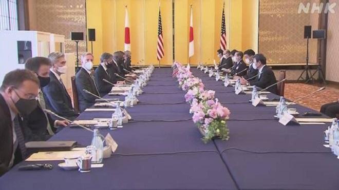 Блинкен: США и Япония будут сотрудничать в вопросе денуклеаризации КНДР