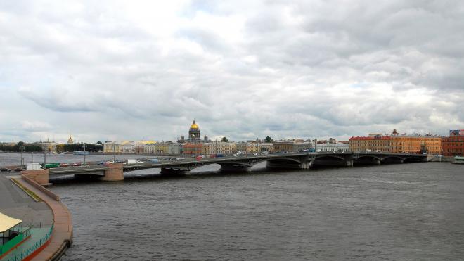 Благовещенский мост разведут днем в воскресенье
