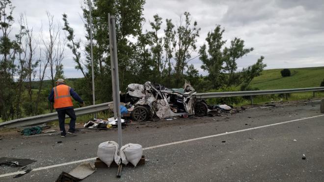 Появились подробности смертельной массовой аварии в Башкирии, где погибла мать 3 детей