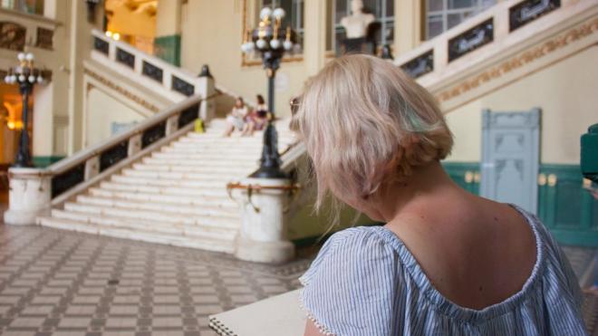 В Петербурге 300 человек соберутся, чтобы нарисовать Витебский вокзал