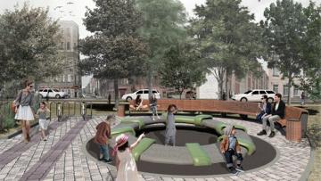 В 2019 году в Петербурге благоустроят сквер на Мытнинской ...