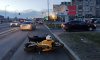 Мотоцикл попал в ДТП на Планерной