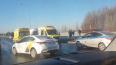 """На Пулковском шоссе """"Хендай"""" сбил мужчину"""