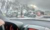 Очевидцы: ДТП на Волхонском шоссе произошло из-за скользкой дороги