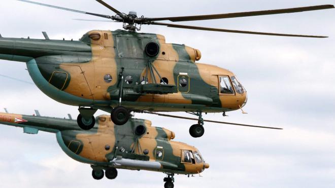 В Афганистане при столкновении двух вертолетов ВВС погибли 15 человек