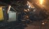 В Петербурге от ночного ДТП чудом спаслись дорожные рабочие
