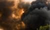 Пожар на Московской сортировочной станции