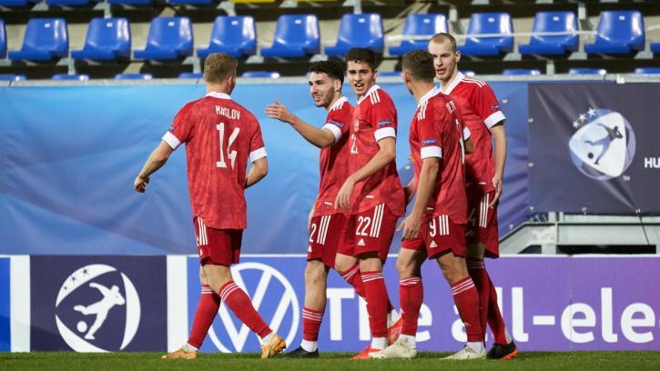 Молодежная сборная России проведет товарищеские матчи с Сербией и Болгарией