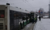 Два автобуса, троллейбус и маршрутка помяли друг друга на проспекте Мечникова