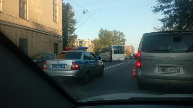 На Двинской улице автобус сбил 69-летнюю петербурженку