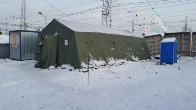 В Петербурге начинают оказывать помощь бездомным