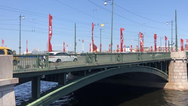 Ремонт Биржевого моста за 2 миллиарда состоится нескоро