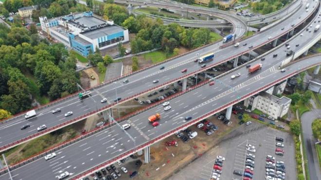 На Большом Обуховском мосту досрочно завершилась замена деформационного шва