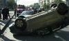 На Суворовском и Софийской ДТП с перевернувшимися машинами