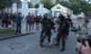 МВД отрицает причастность полицейского к избиению девушки на митинге