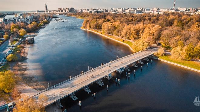 Петербуржцам напомнили о продолжающемся ремонте на 2-ом Елагином мосте