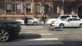 На Добролюбова водитель автомобиля напал на велосипедист...