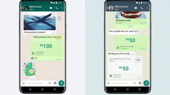 В WhatsApp появятся электронные платежи