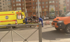 На Ленинском проспекте автомобиль влетел в столб и сшиб пешехода