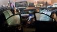 Сразу пять автомобилей столкнулись в Выборгском районе ...