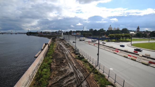Дирекция транспортного строительства обязала подрядчика  устранить дефекты на Синопской набережной