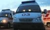 BMW врезался в остановку общественного транспорта в центре Москвы