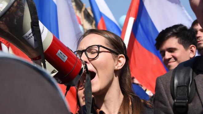 Смазливая инстаграмщица стала главой петербургского штаба Навального