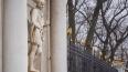 Статуи северного павильона Аничкова дворца демонтируют ...