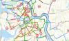 Петербург на время пандемии могутопутать временными велодорожками